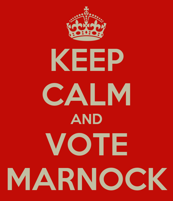 KEEP CALM AND VOTE MARNOCK