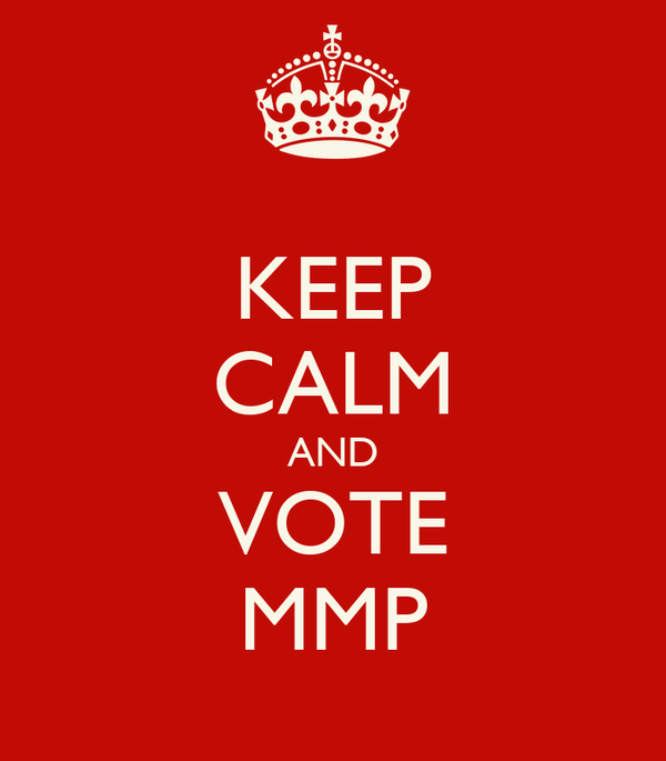 KEEP CALM AND VOTE MMP