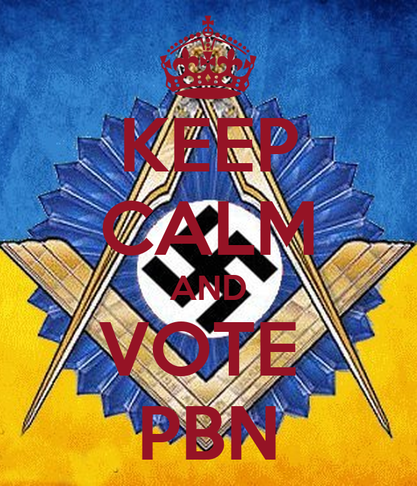 KEEP CALM AND VOTE  PBN