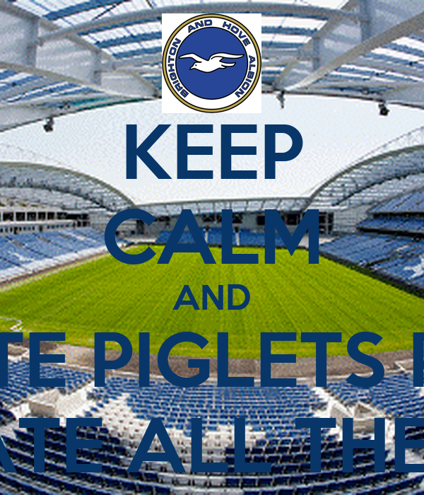 KEEP CALM AND VOTE PIGLETS PIES WE ATE ALL THE PIES