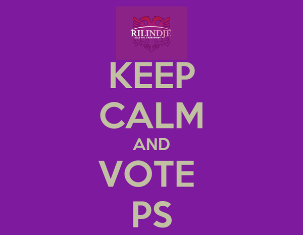 KEEP CALM AND VOTE  PS