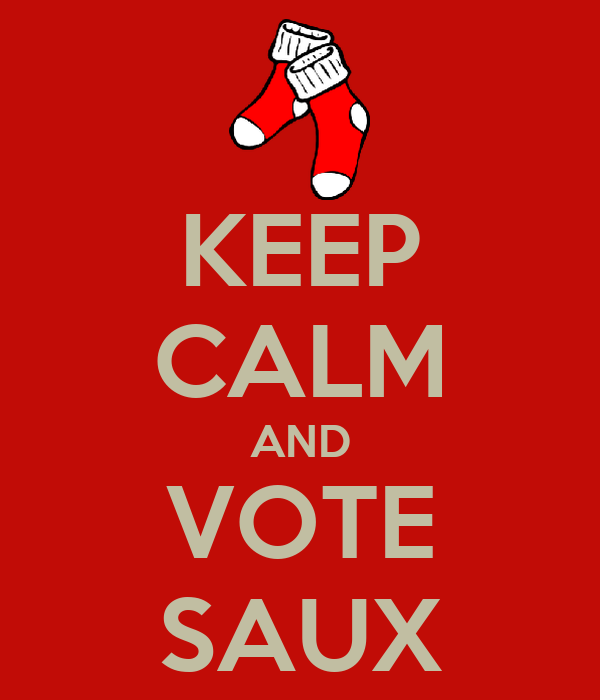 KEEP CALM AND VOTE SAUX