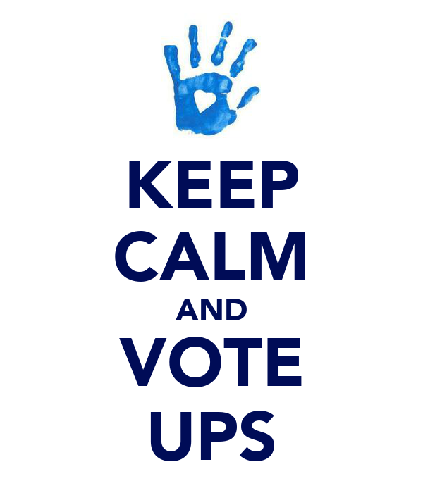 KEEP CALM AND VOTE UPS