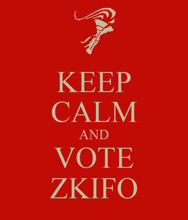 KEEP CALM AND VOTE ZKIFO