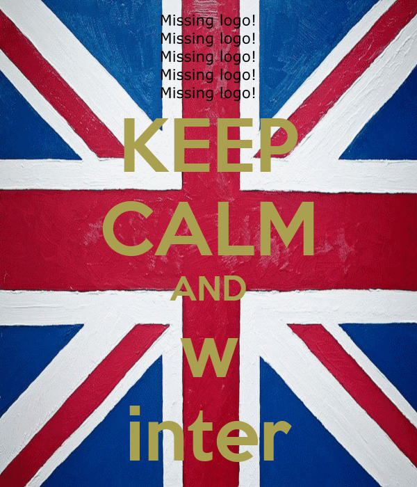 KEEP CALM AND w inter