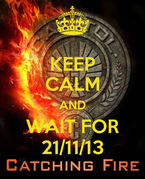 KEEP CALM AND WAIT FOR 21/11/13