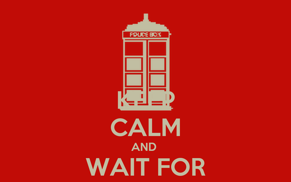 KEEP CALM AND  WAIT FOR AUTUMN