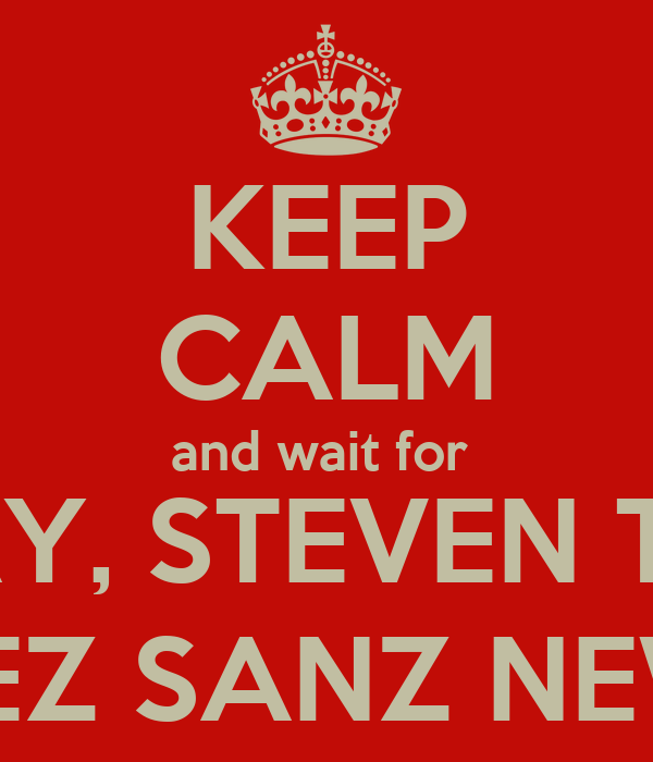 KEEP CALM and wait for  BRIAN RAY, STEVEN TYLER and LUCRECIA LÓPEZ SANZ NEW SONG - NOT -