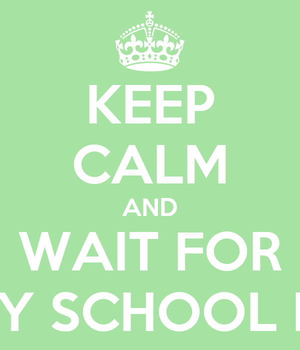 KEEP CALM AND WAIT FOR PHARMACY SCHOOL INTERVIEW