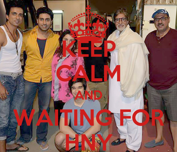 KEEP CALM AND WAITING FOR HNY