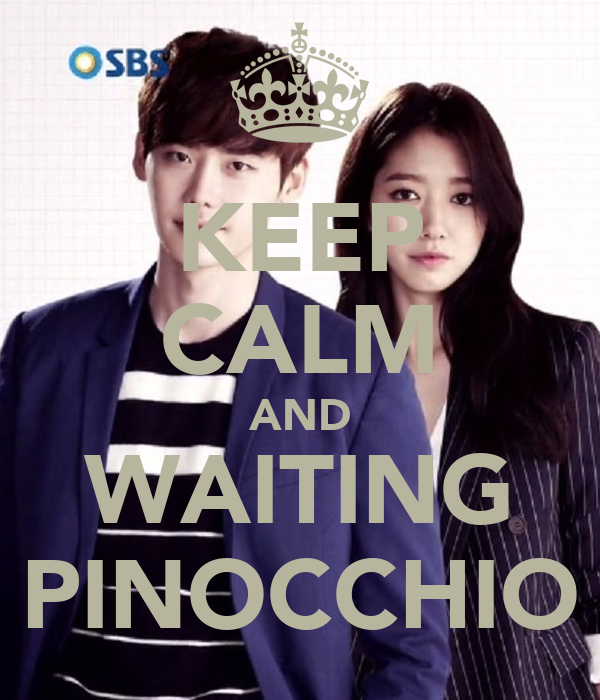 KEEP CALM AND WAITING PINOCCHIO