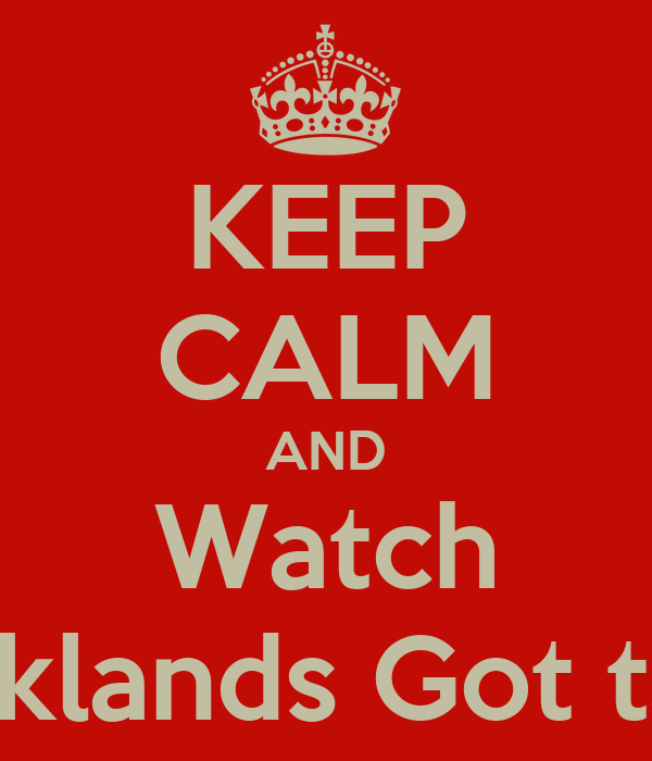 KEEP CALM AND Watch Brooklands Got talent