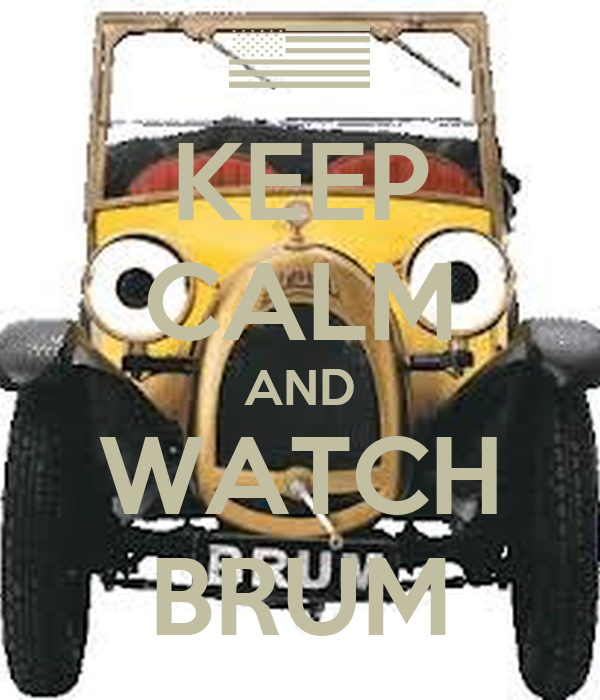 KEEP CALM AND WATCH BRUM