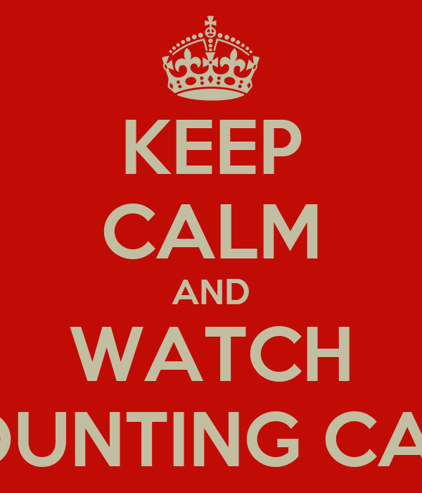 KEEP CALM AND WATCH COUNTING CARS