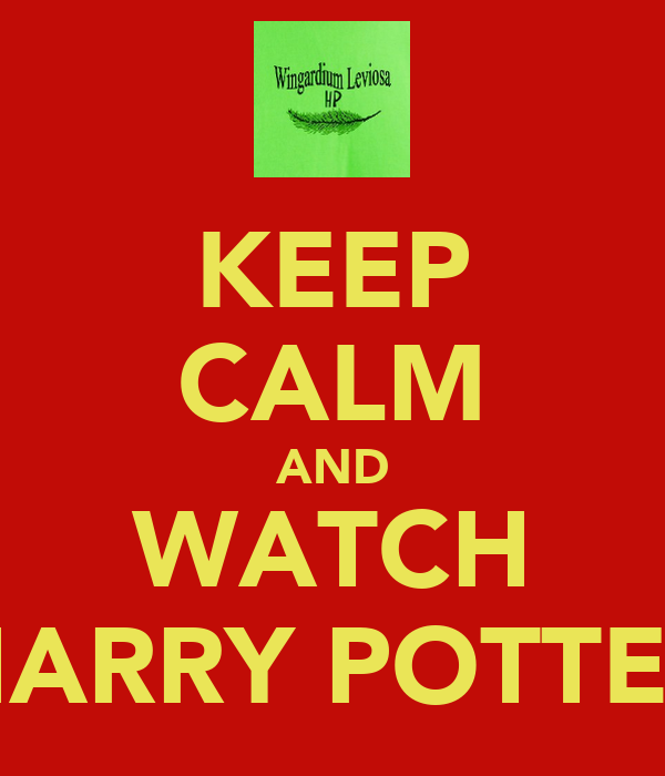 keep calm and watch harry potter poster anna daxrew