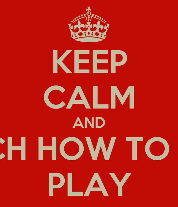 KEEP CALM AND WATCH HOW TO PIRLO PLAY