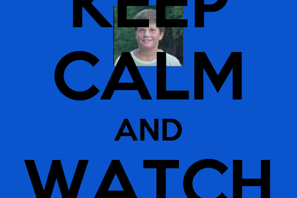 KEEP CALM AND WATCH KLOCUCH