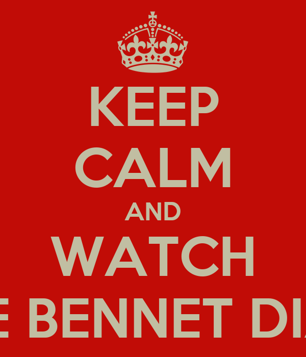 KEEP CALM AND WATCH LIZZIE BENNET DIARIES