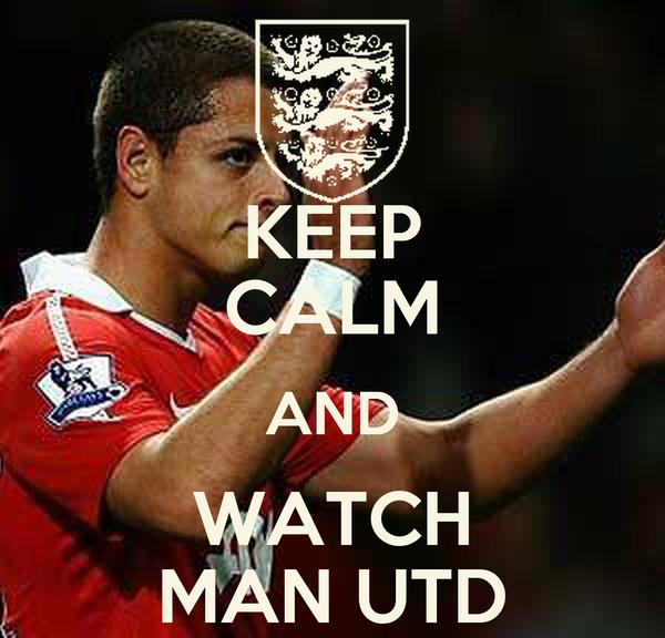 KEEP CALM AND WATCH MAN UTD