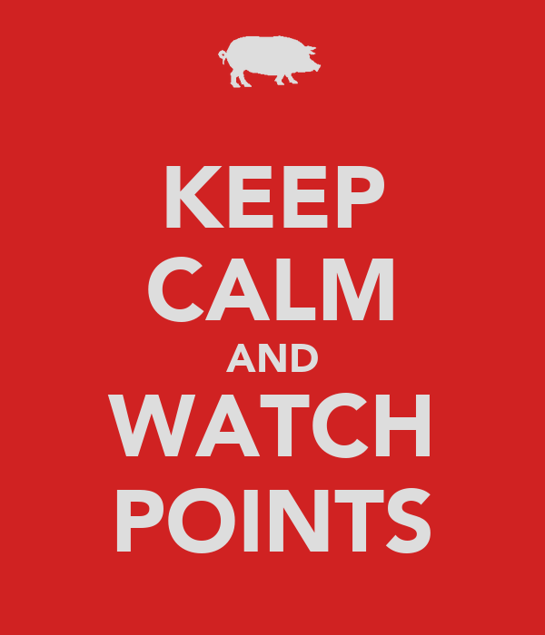 KEEP CALM AND WATCH POINTS