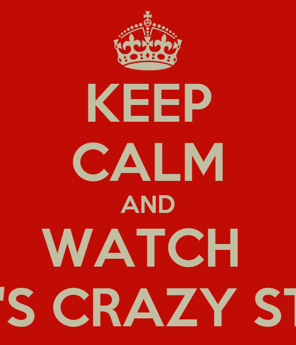 KEEP CALM AND WATCH  RYAN'S CRAZY STUNTS