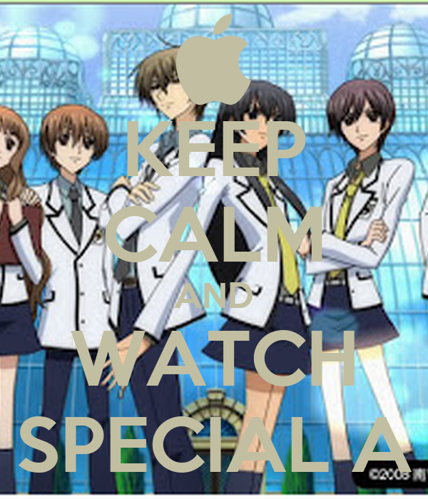 KEEP CALM AND WATCH SPECIAL A