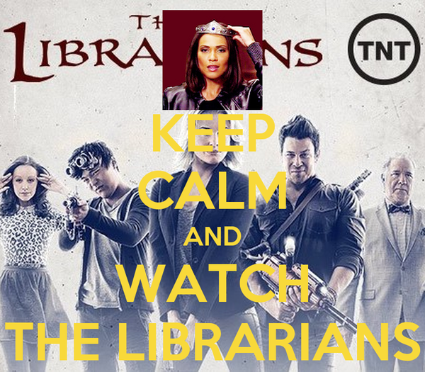 KEEP CALM AND WATCH THE LIBRARIANS