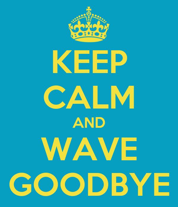 Image result for goodbye wave