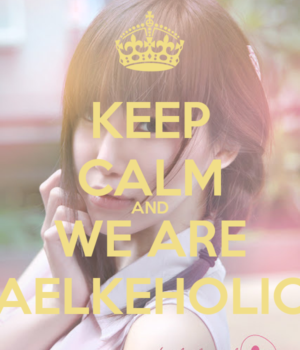 KEEP CALM AND WE ARE AELKEHOLIC