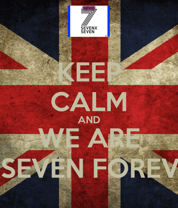 KEEP CALM AND WE ARE EXSEVEN FOREVER