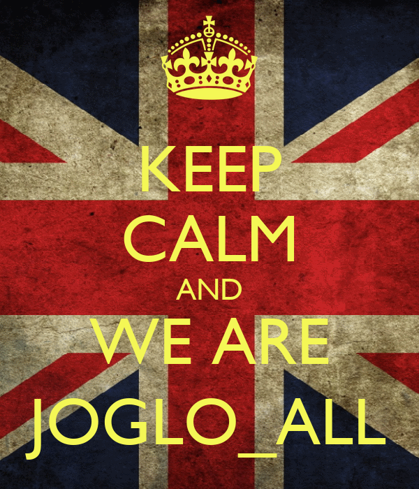 KEEP CALM AND WE ARE JOGLO_ALL