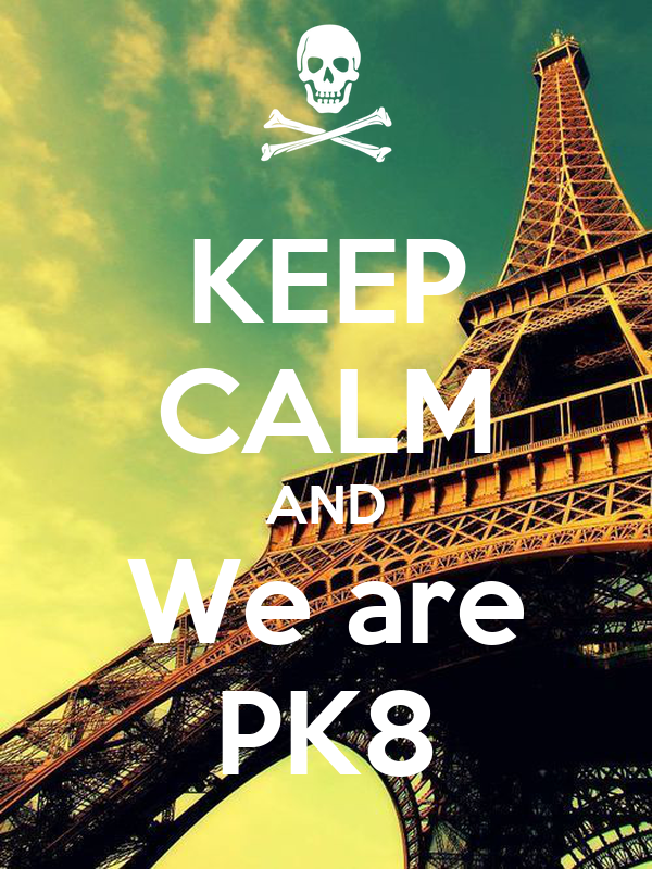 KEEP CALM AND We are PK8