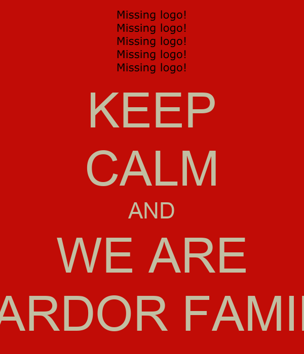 KEEP CALM AND WE ARE WARDOR FAMILY