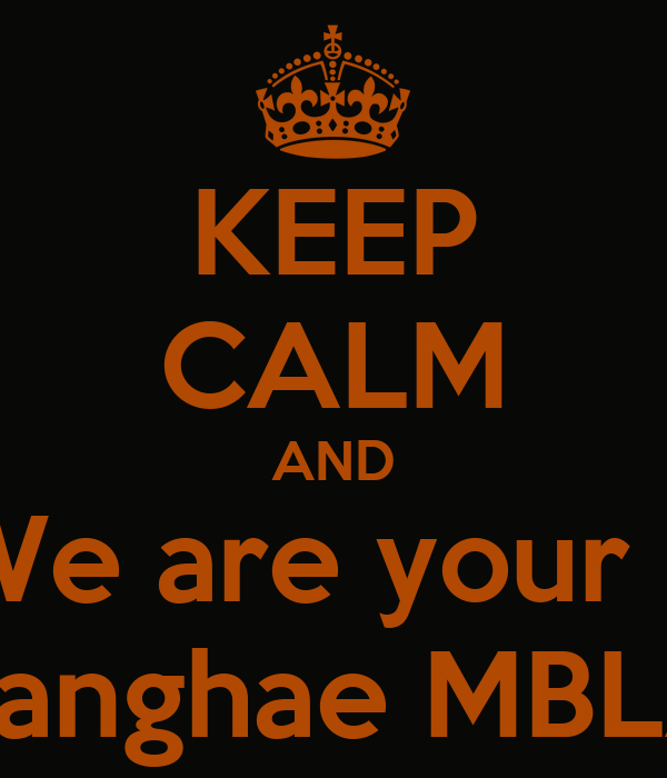 KEEP CALM AND We are your + Saranghae MBLAQ
