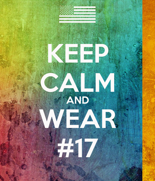 KEEP CALM AND WEAR #17