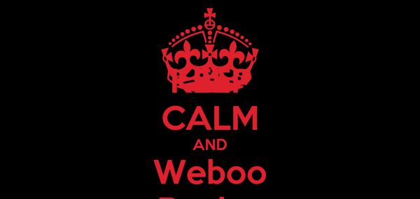 KEEP CALM AND Weboo Design