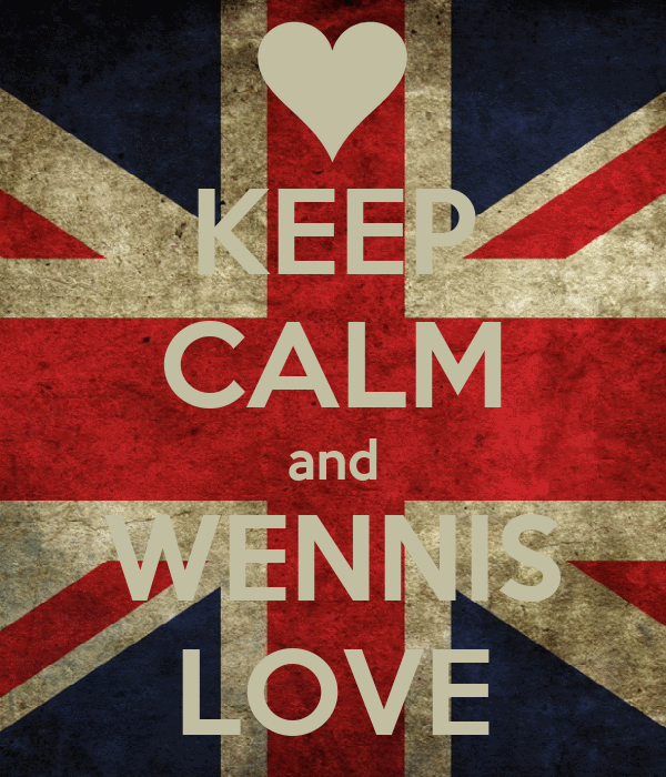 KEEP CALM and WENNIS LOVE