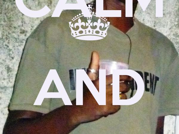 KEEP CALM AND WESLEY LUIZ