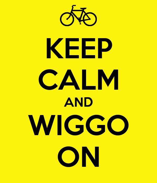 KEEP CALM AND WIGGO ON