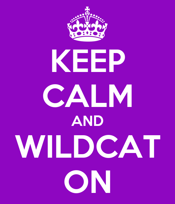 KEEP CALM AND WILDCAT ON