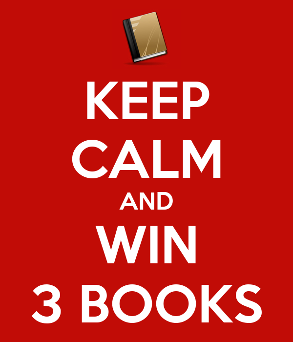 KEEP CALM AND WIN 3 BOOKS