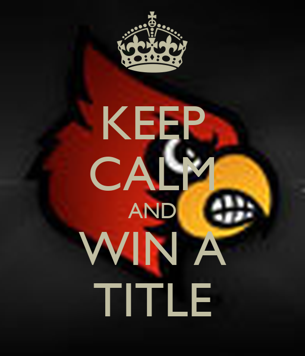 KEEP CALM AND WIN A TITLE