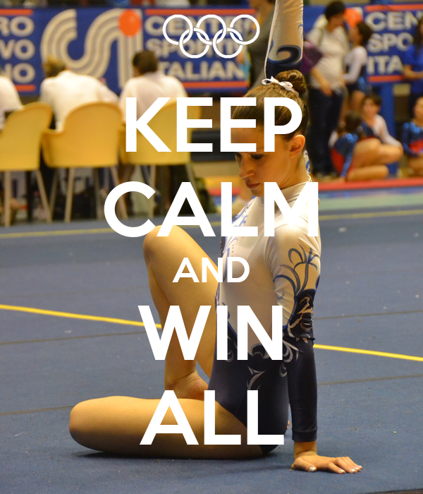 KEEP CALM AND WIN ALL