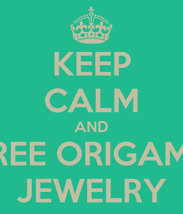 KEEP CALM AND WIN FREE ORIGAMI OWL JEWELRY