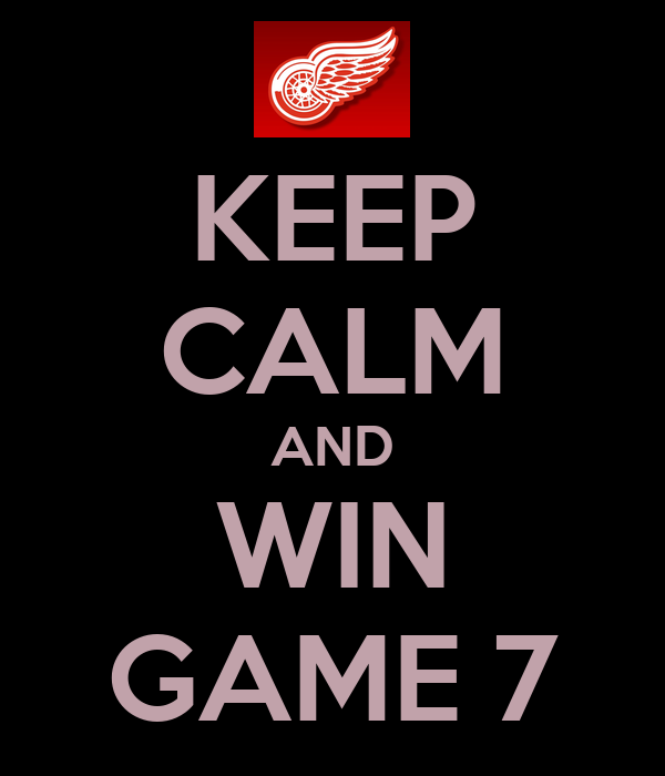 KEEP CALM AND WIN GAME 7