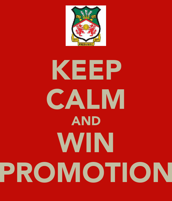 KEEP CALM AND WIN PROMOTION