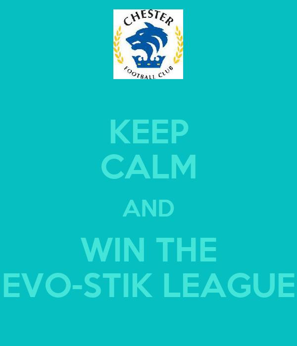 KEEP CALM AND WIN THE EVO-STIK LEAGUE