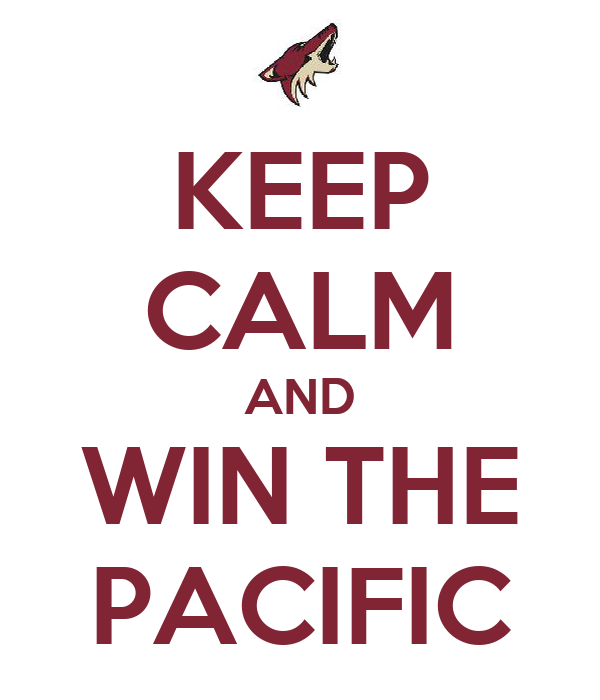 KEEP CALM AND WIN THE PACIFIC