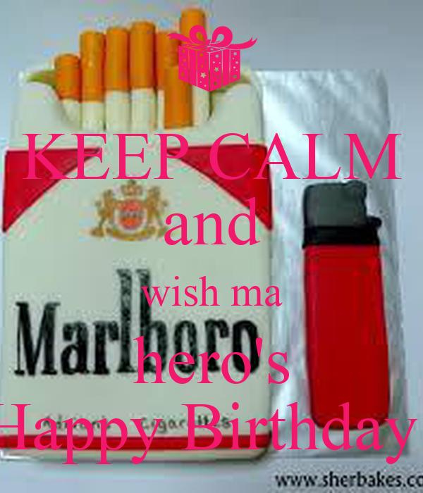 KEEP CALM and wish ma hero's Happy Birthday!