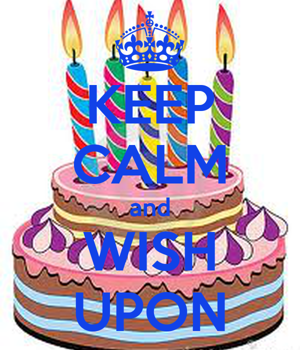 KEEP CALM and WISH UPON